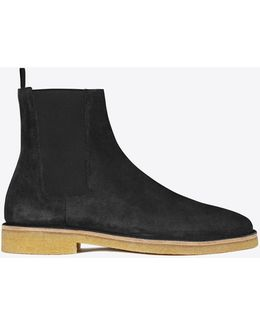 Nevada Suede Chelsea Boots