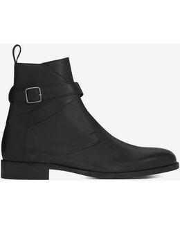 Dare 25 Jodhpur Boot In Black Leather