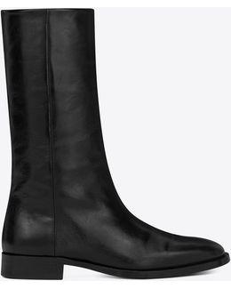 Matt 25 Ankle Boot In Black Moroder Leather