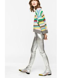 Pharel Silver Deluxe Leggings