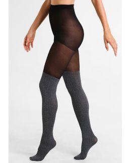 Marl Secret Sock Tights