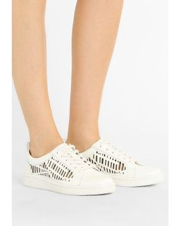 Denise Patent Emboss Laser Trainers