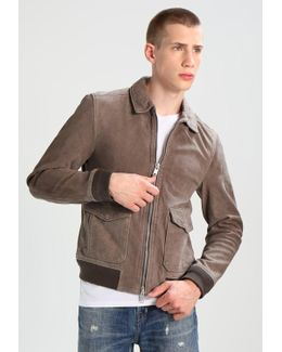 Janko Aviator Leather Jacket