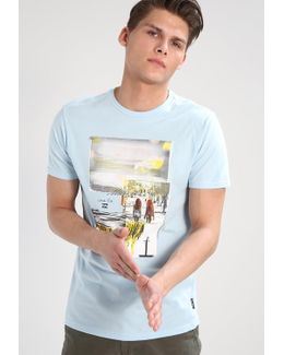 Vacation Tailored Fit Print T-shirt