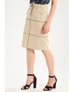 Paperbag Waist A-line Skirt