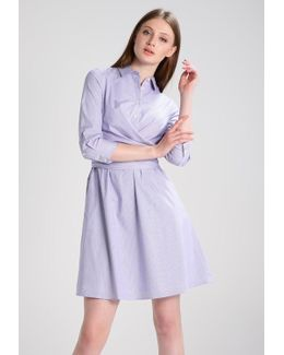 Waist Tie Wendy Stripe Dress