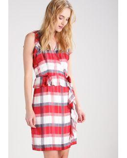 Rosalyn Plaid Summer Dress