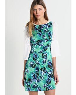 Apron Tie Gina Wildflower Summer Dress