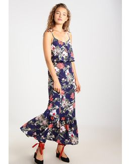 Angela Tropical Maxi Dress