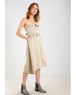Strapless Utility Summer Dress