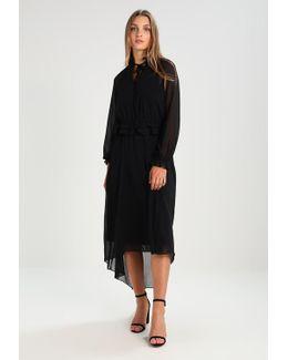 Tie Neck Maxi Dress Maxi Dress