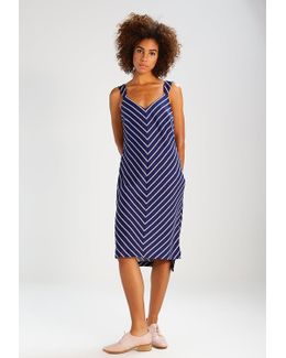 Wide Stripe Slip Sarah Summer Dress
