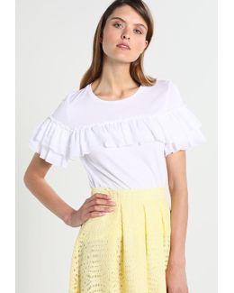 Couture Ruffle Print T-shirt