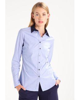 Riley Contrast Leopard Collar Shirt