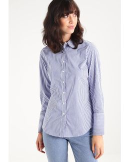 Riley Stripe Rounded Collar Shirt