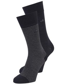 Stanley Fine Stripe 2 Pack Socks