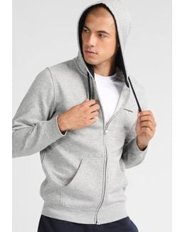 Hooded Full Zip Tracksuit Top