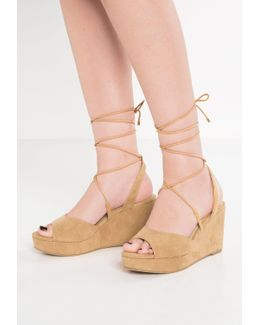 Cindy Wedge Sandals