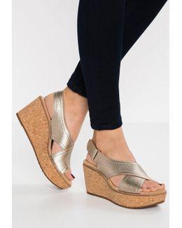 Aisley Tulip Wedge Sandals