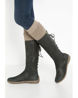 Bee Lace-up Boots