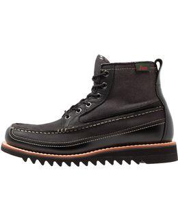 Quail Razor Mix Lace-up Boots