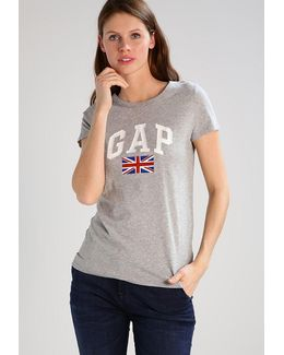Uk Flag Print T-shirt