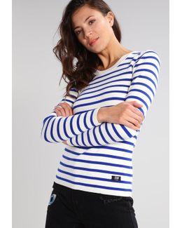 Iria Stripe R Knit L/s Jumper