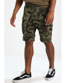 Rovic Belt Camo Loose 1/2 3d Shorts