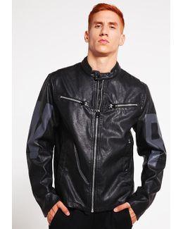 Mower Gpl Ip Jkt Faux Leather Jacket