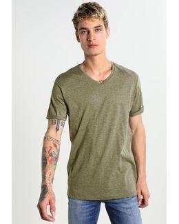 Felor Regular V T S/s Basic T-shirt