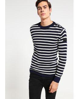 Dadin Stripe R Knit L/s Jumper