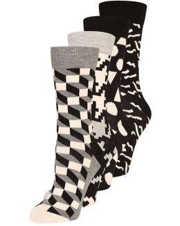Gift Box 4 Pack Socks