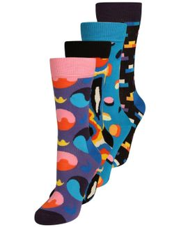 4 Pack Socks