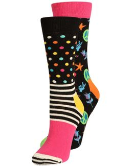Peace&love 2 Pack Socks