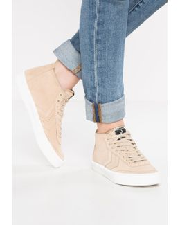 Stockholm Suede Mid High-top Trainers
