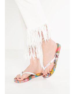 I Love T-bar Sandals