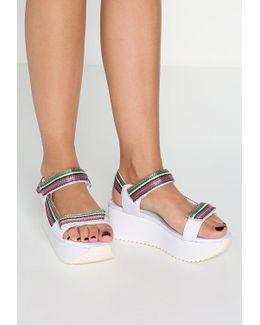 Whiplash Platform Sandals