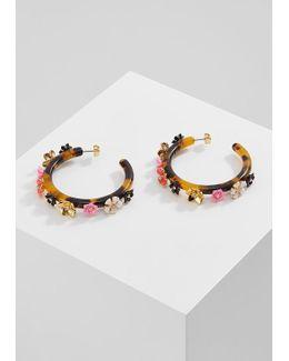 Flower Clock Earrings