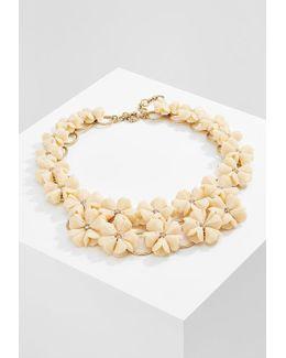 Lucite Petunia Necklace