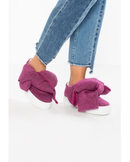 Lurex Bow Trainers