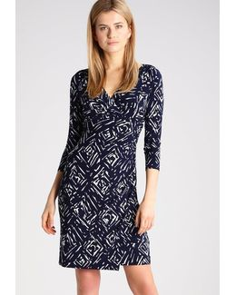 Lauren Surplice Jersey Dress