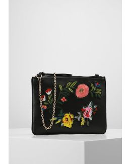 Floral Badge Clutch