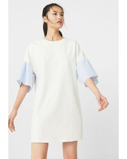 Frill Cotton Dress