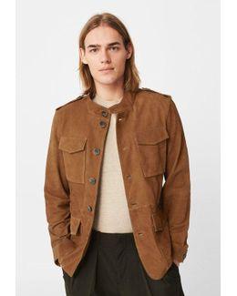 Laggage Leather Jacket