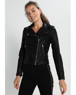 Debbie Faux Leather Jacket