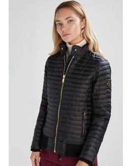 Ruffle Down Jacket