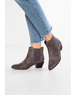 Wide Fit Chrissie Ankle Boots