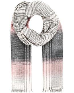 Onlnathia Weaved Check Scarf Acc Scarf
