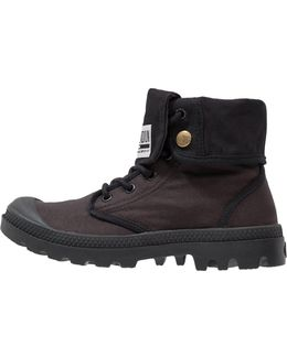 Baggy Army Lace-up Boots
