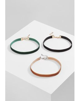 Figge Small Choker 3 Pack Necklace